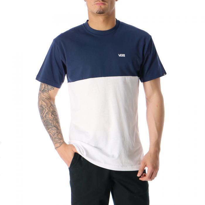 vans t-shirt e canotte dress blues white