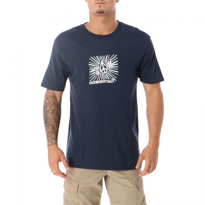 volcom t-shirt e canotte navy