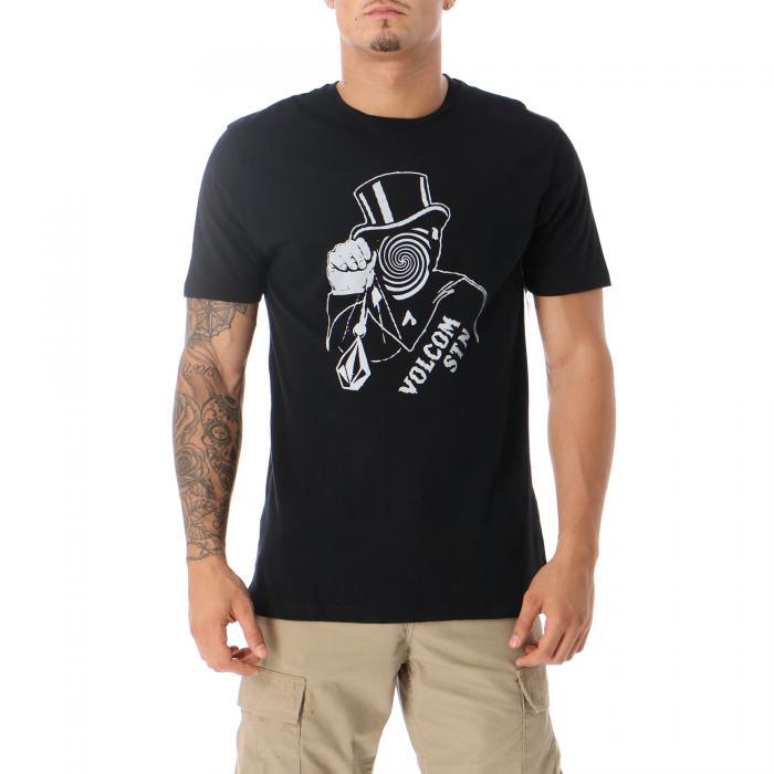 volcom t-shirt e canotte black
