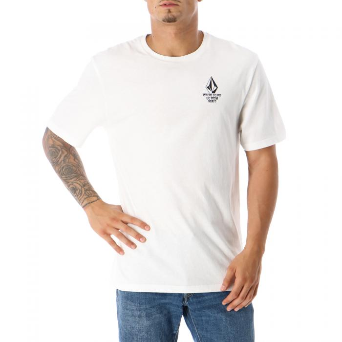 volcom t-shirt e canotte white