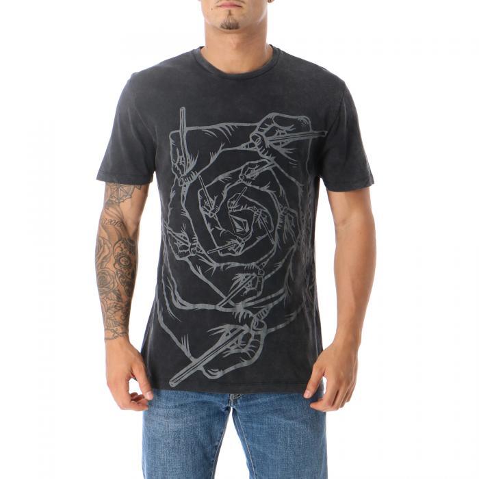 volcom t-shirt e canotte washed black