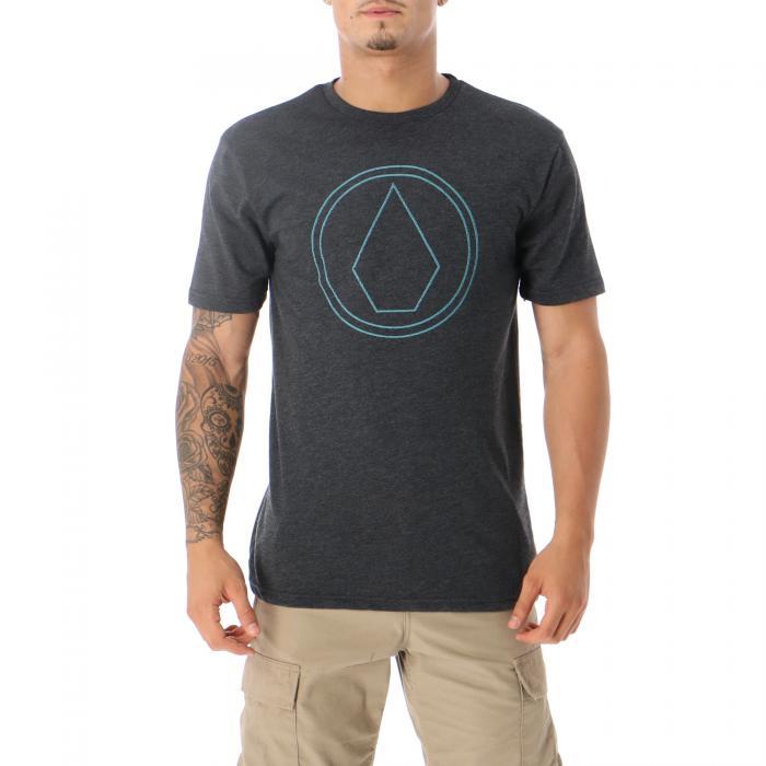 volcom t-shirt e canotte heather black