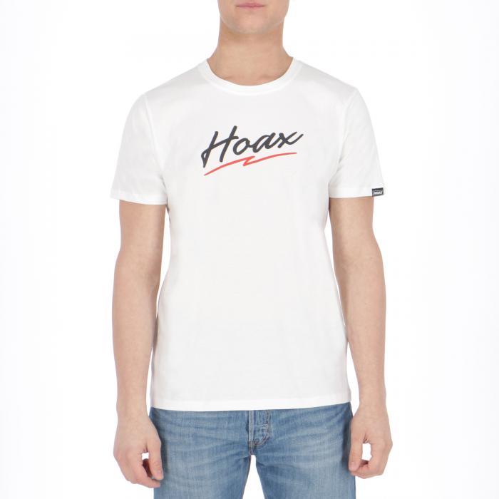 hoax t-shirt e canotte white