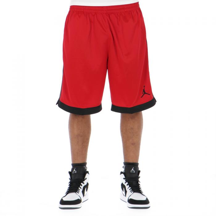 jordan shorts red black