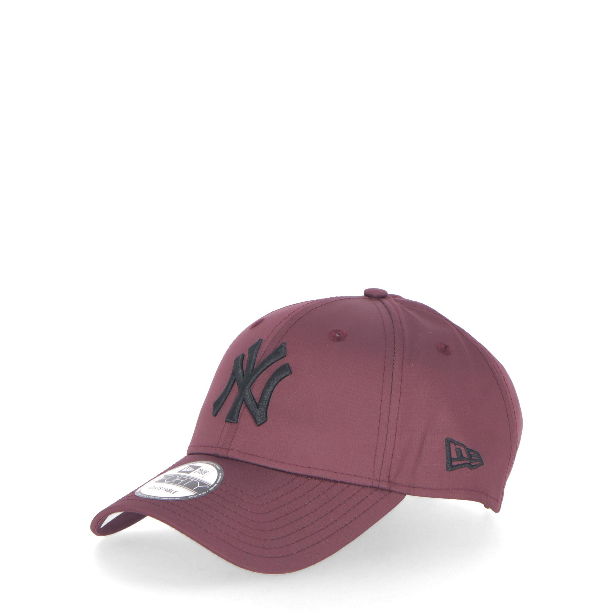 New Era Ripstop New York Yankees 9forty Maroon Black  1f2751c796a
