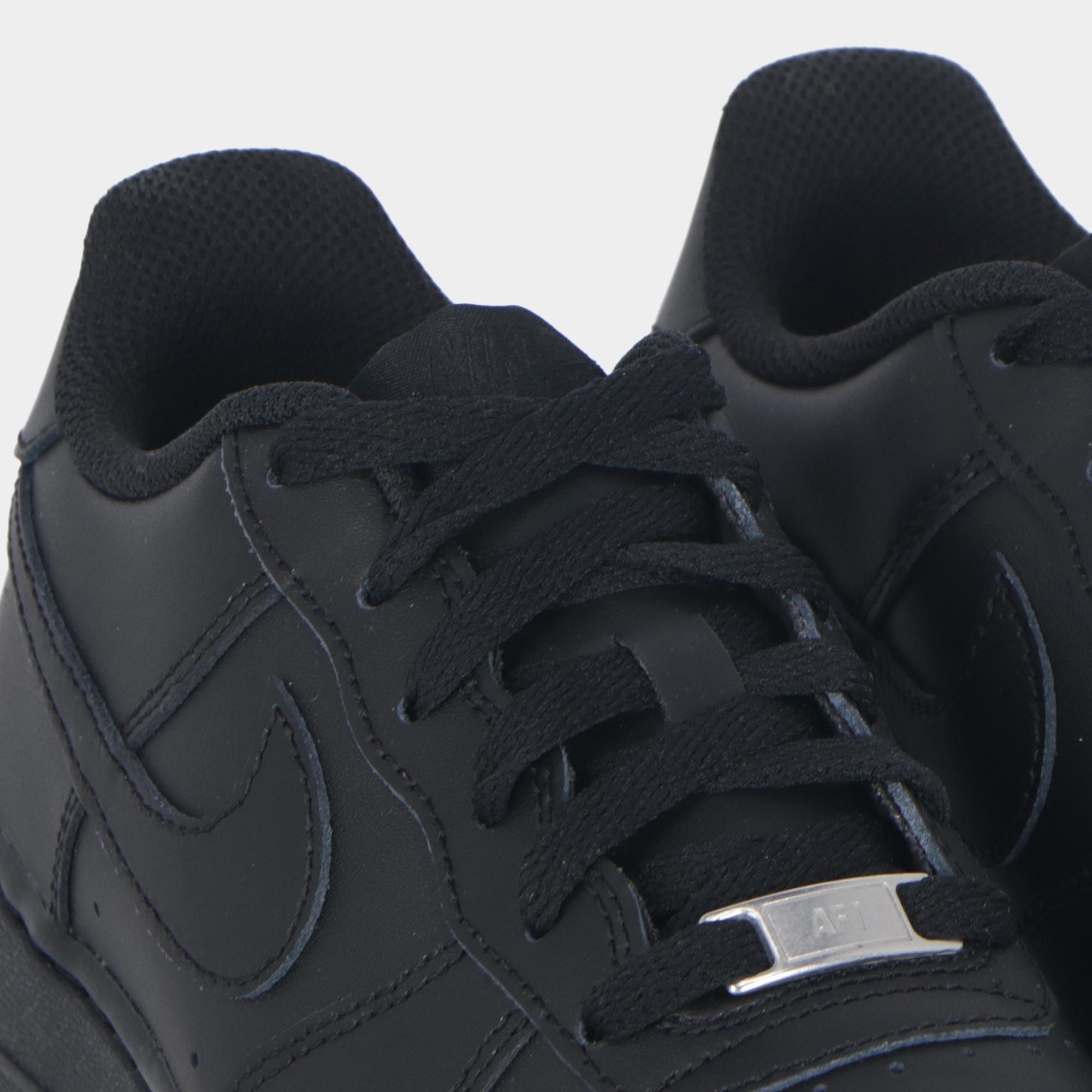 brand new f83a0 5a222 Nike Air Force 1 (gs) - Kids Black black