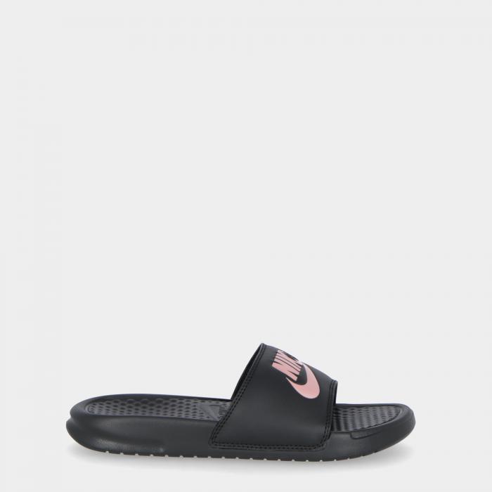nike sandali e ciabatte black/rosgld