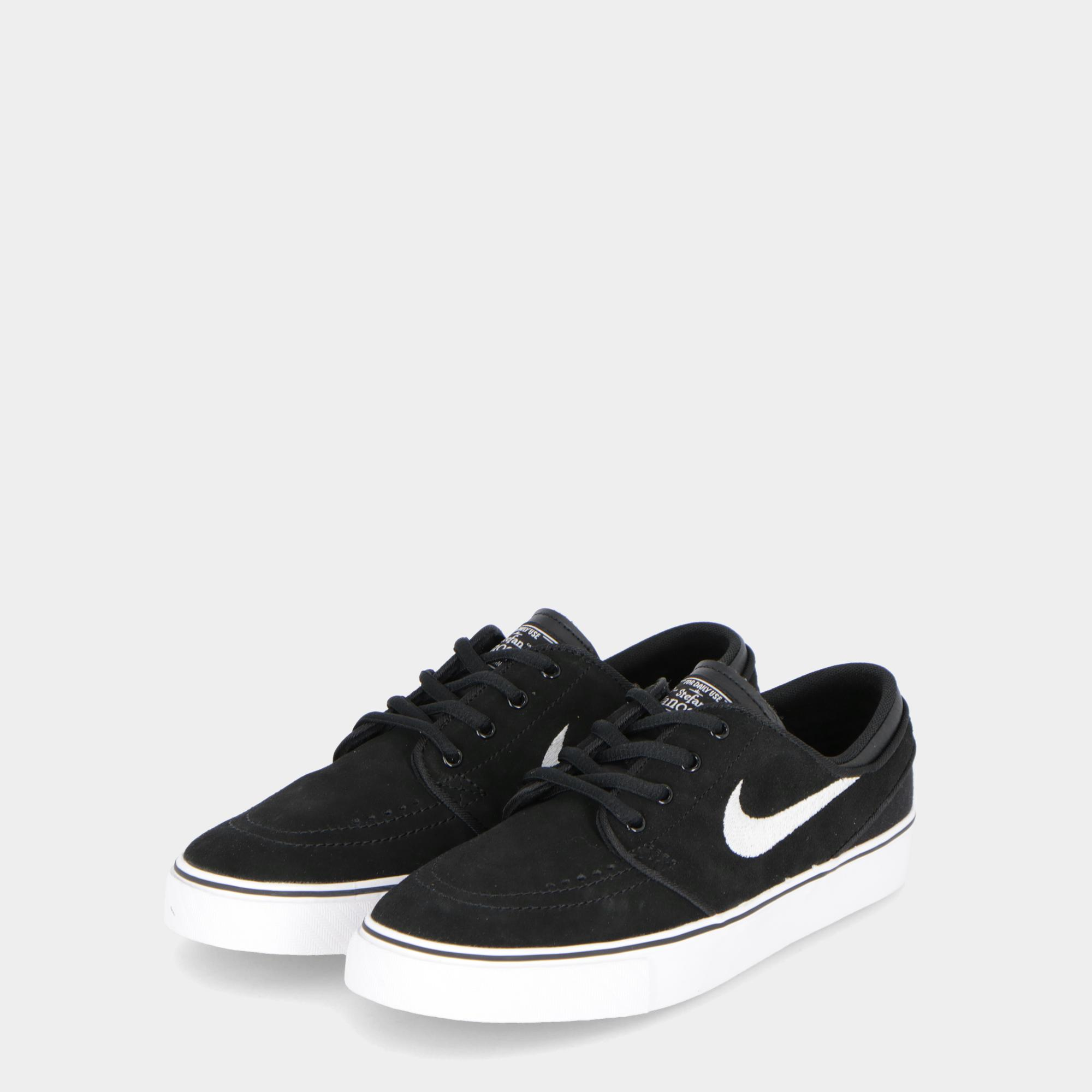 the latest 11507 043db Nike Sb Zoom Stefan Janoski (gs) - Kids Black white