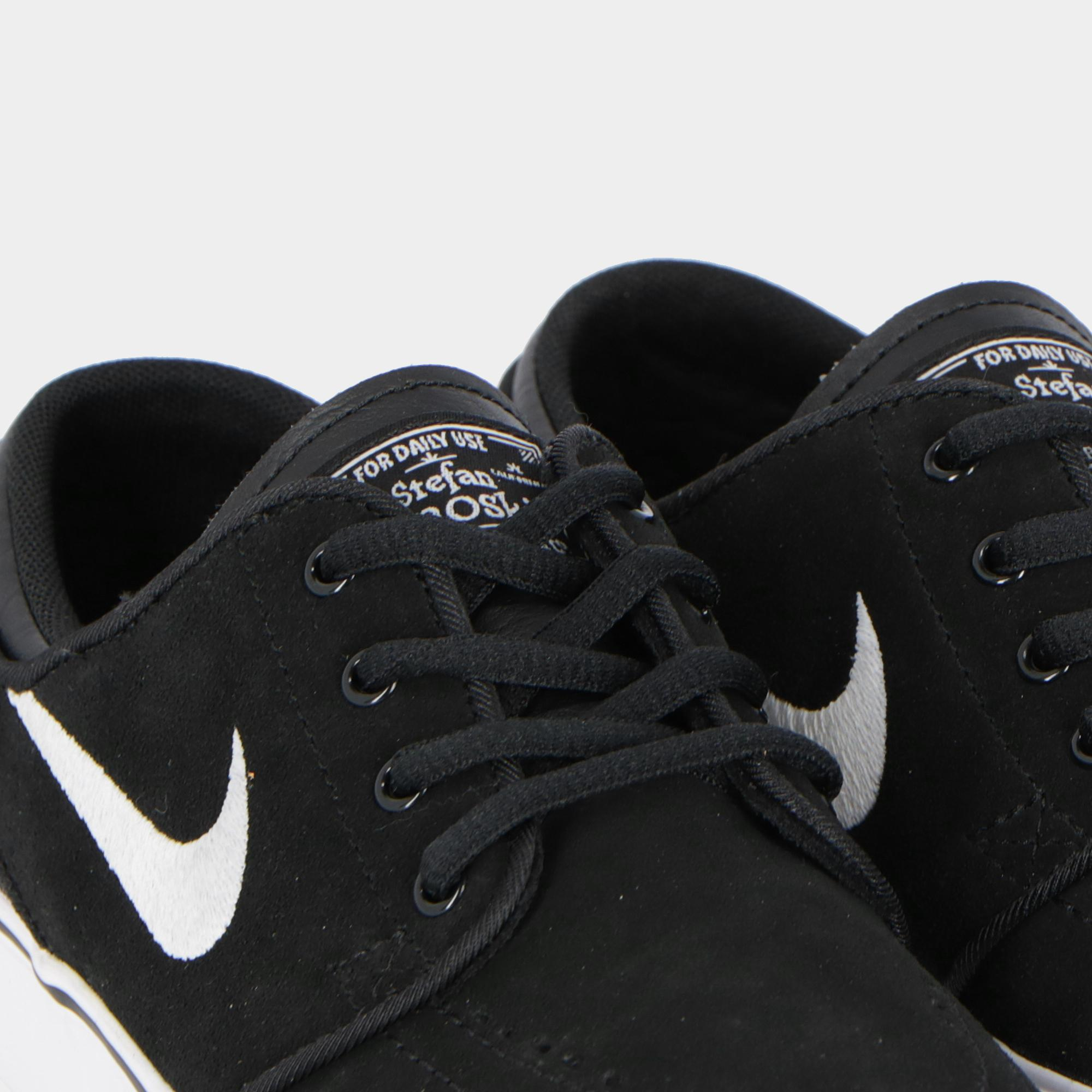 the latest 96901 0199c Nike Sb Zoom Stefan Janoski (gs) - Kids Black white