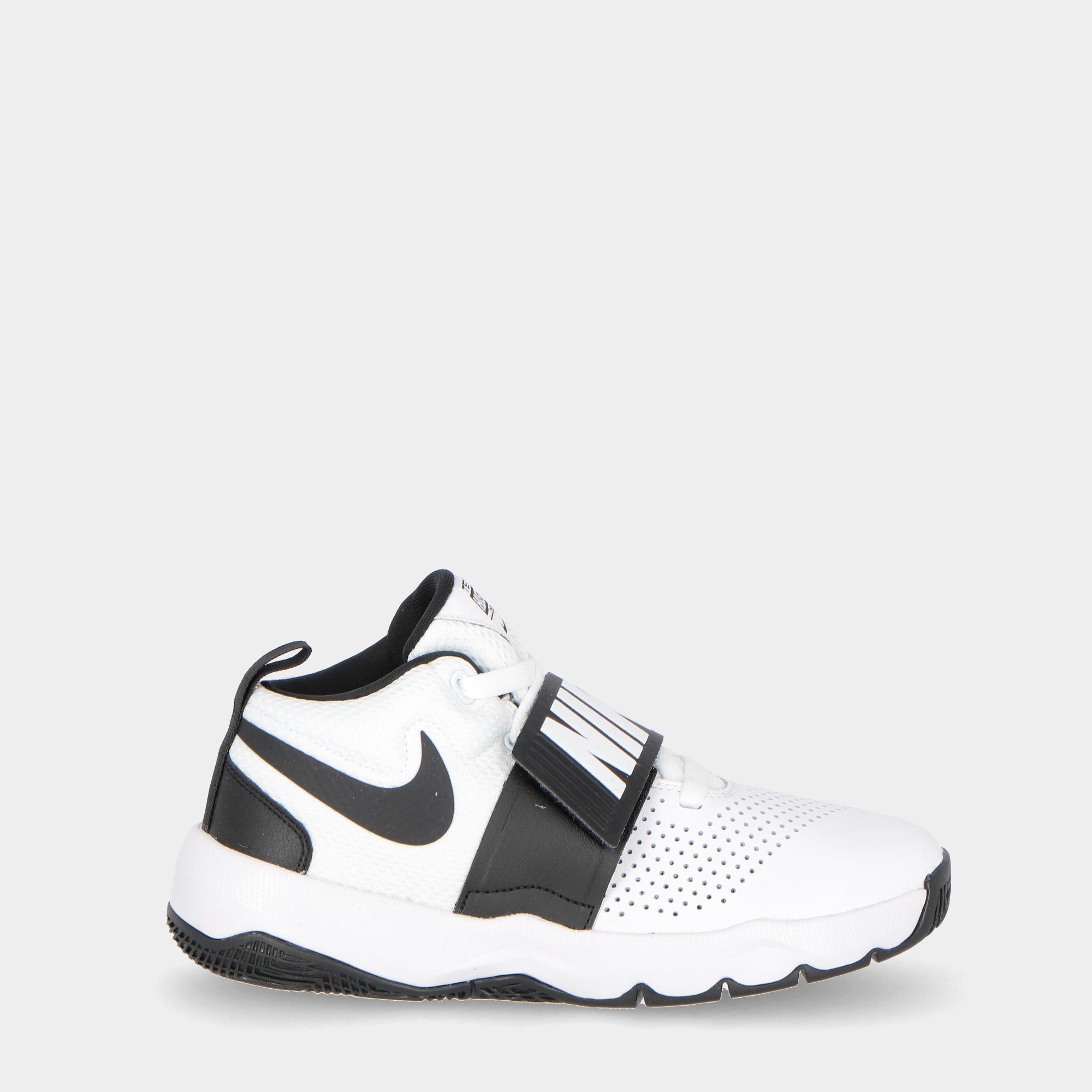 5dee28022e0 Nike Team Hustle D8 (gs) - Kids White Black