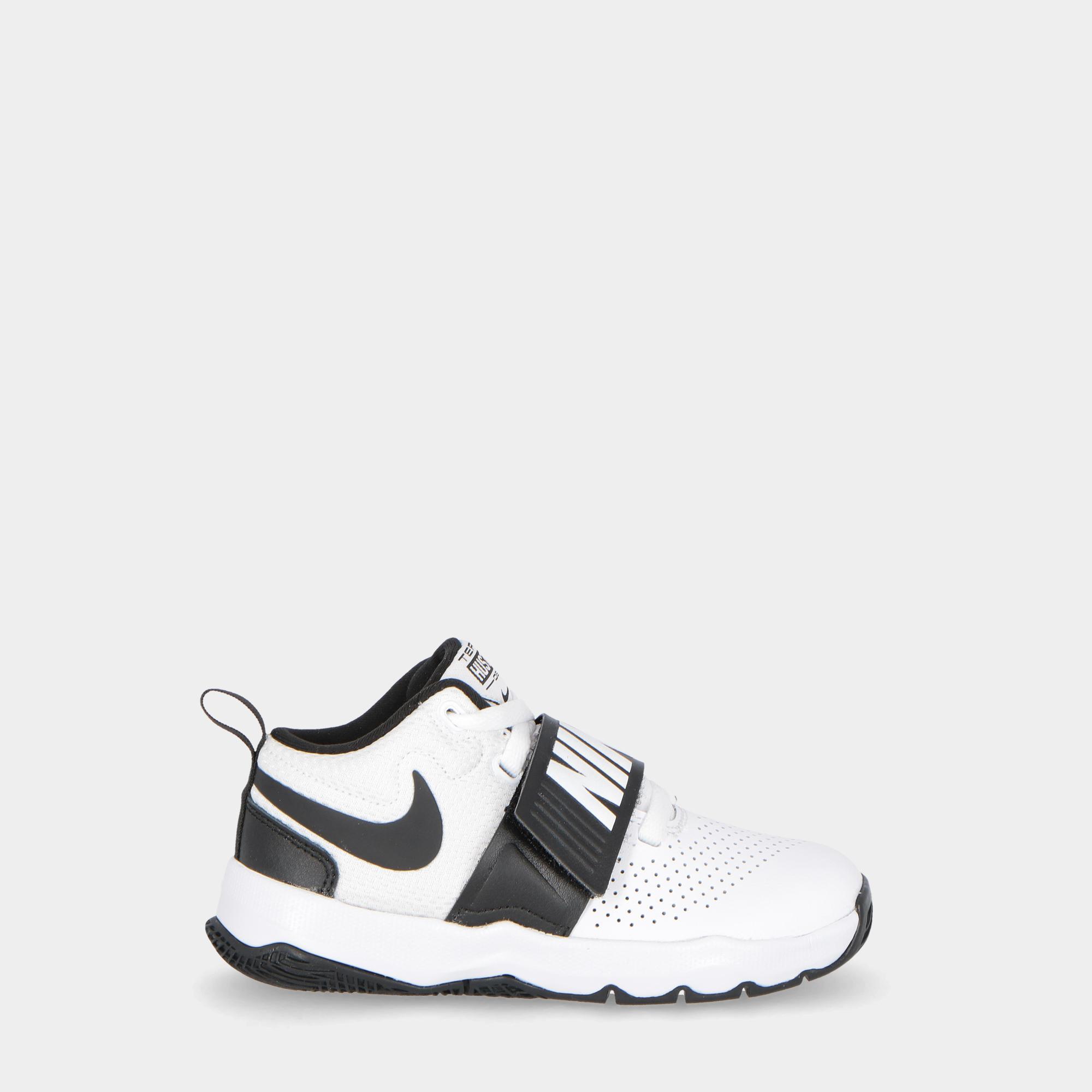 best sneakers 8fd81 624eb Nike Team Hustle D 8 (ps) - Kids White black