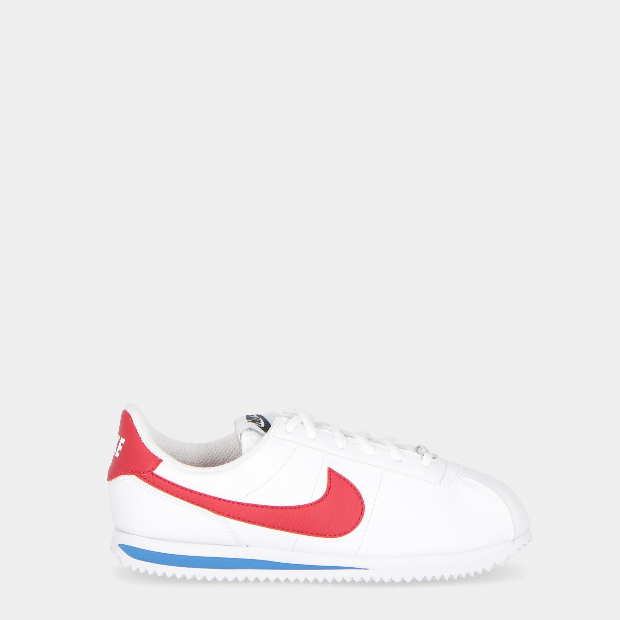 outlet store 5bae6 ef834 Nike Cortez Basic Sl Gs - Kids White red royal