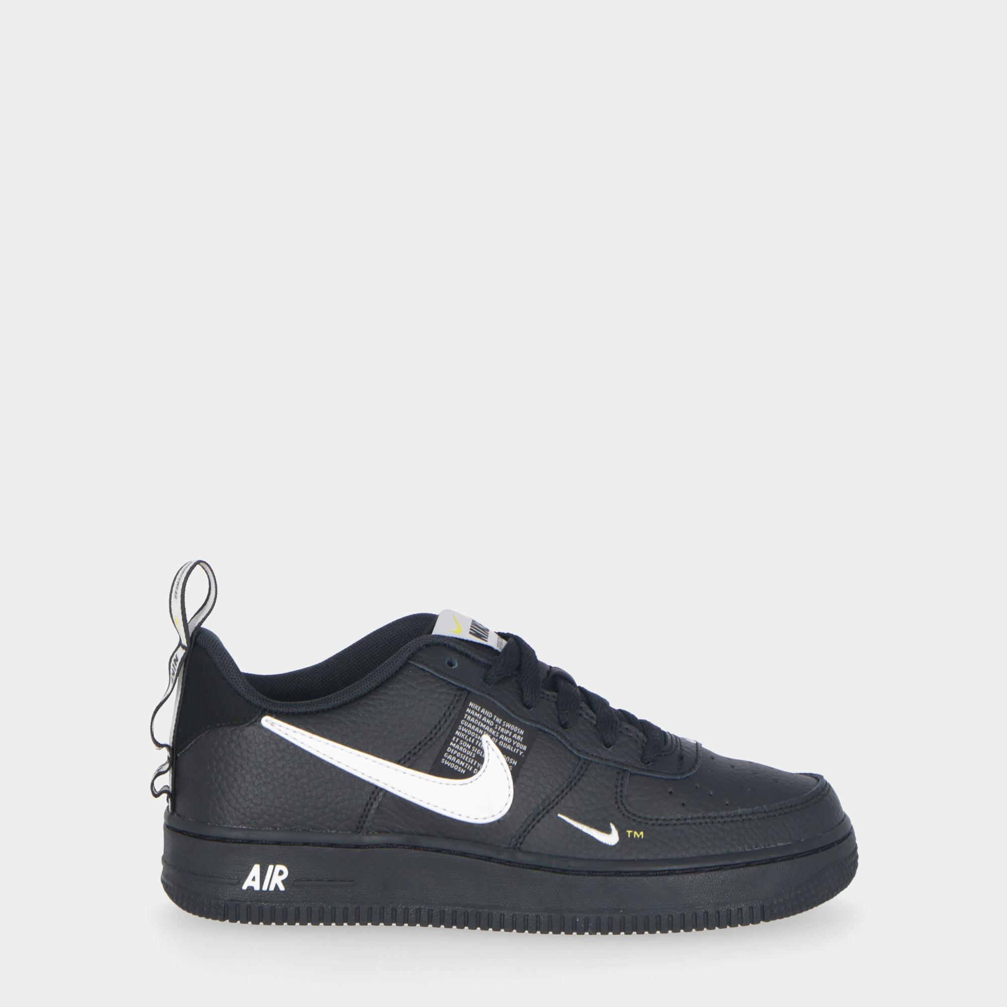 Nike Air Force 1 Lv8 Utility (gs) - Kids BLACK/WHITE