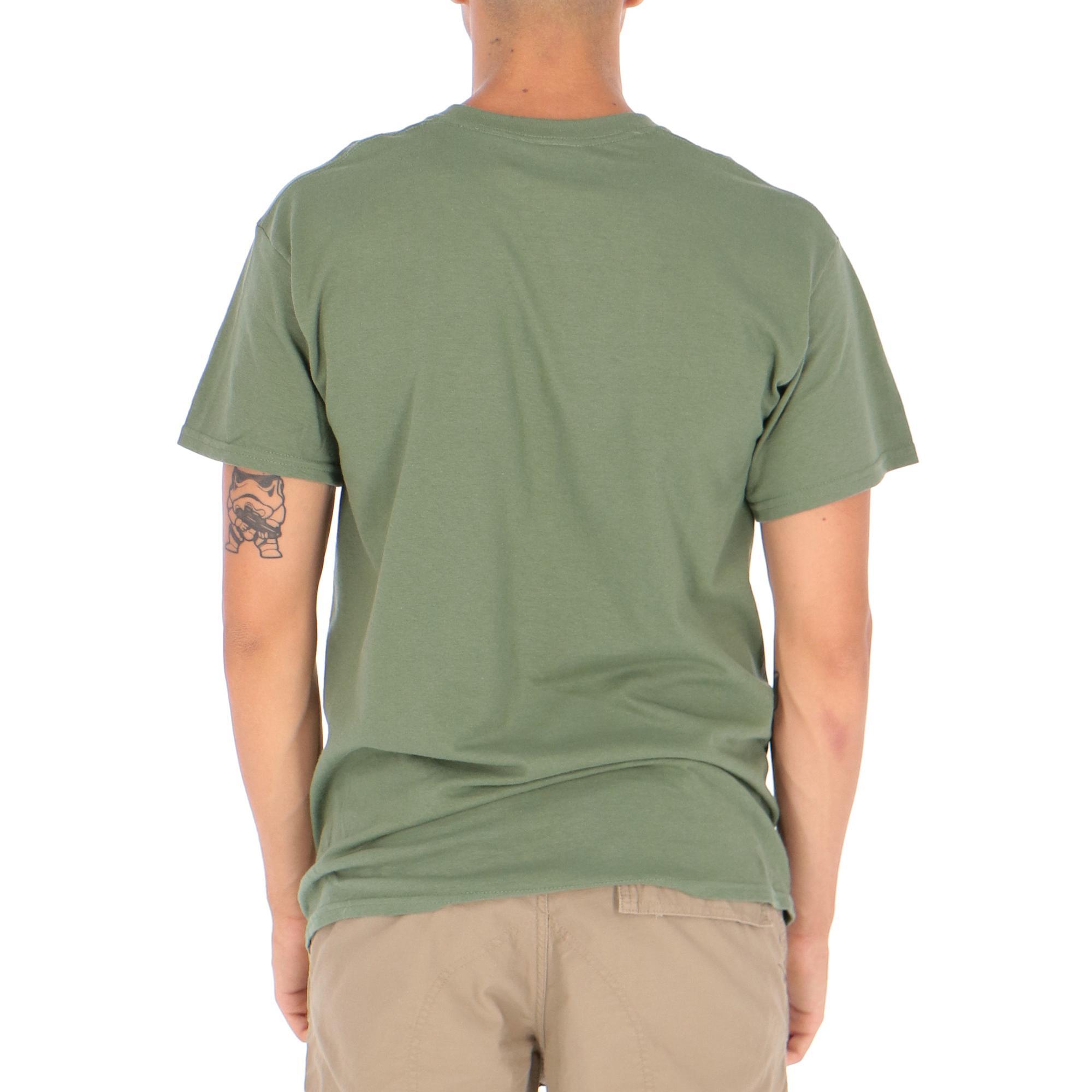 Thrasher Skatemag Tee<br/> Army green