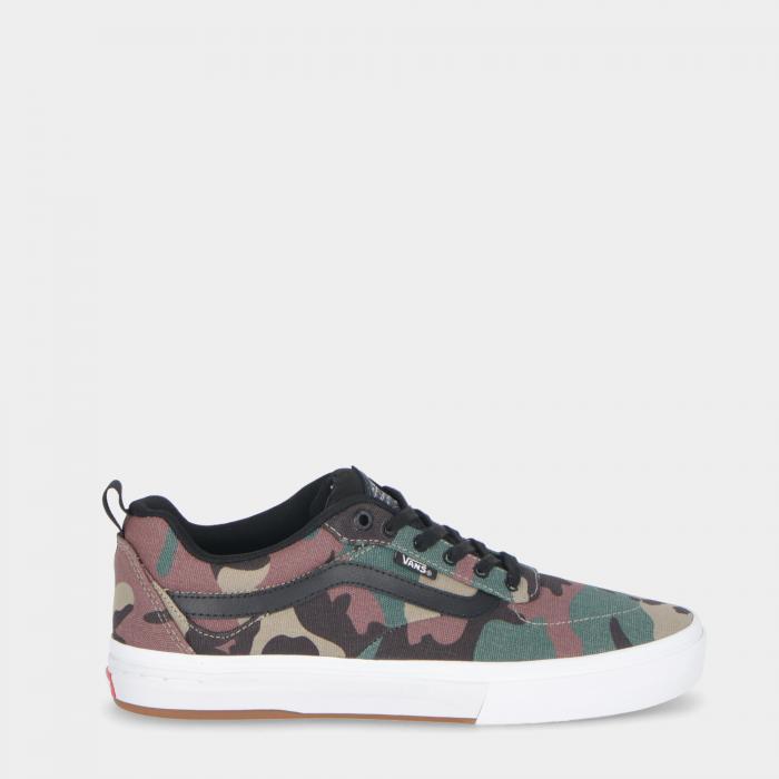 vans scarpe skate camo black/white