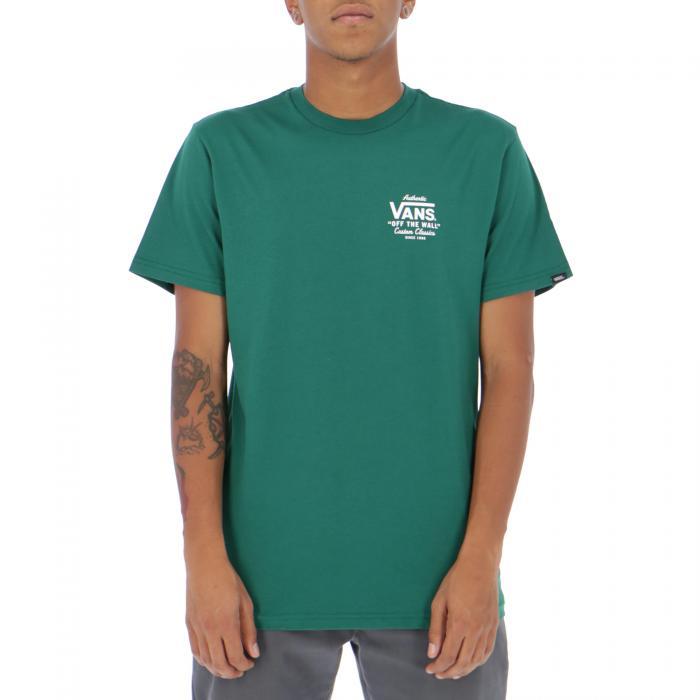vans t-shirt e canotte evergreen white