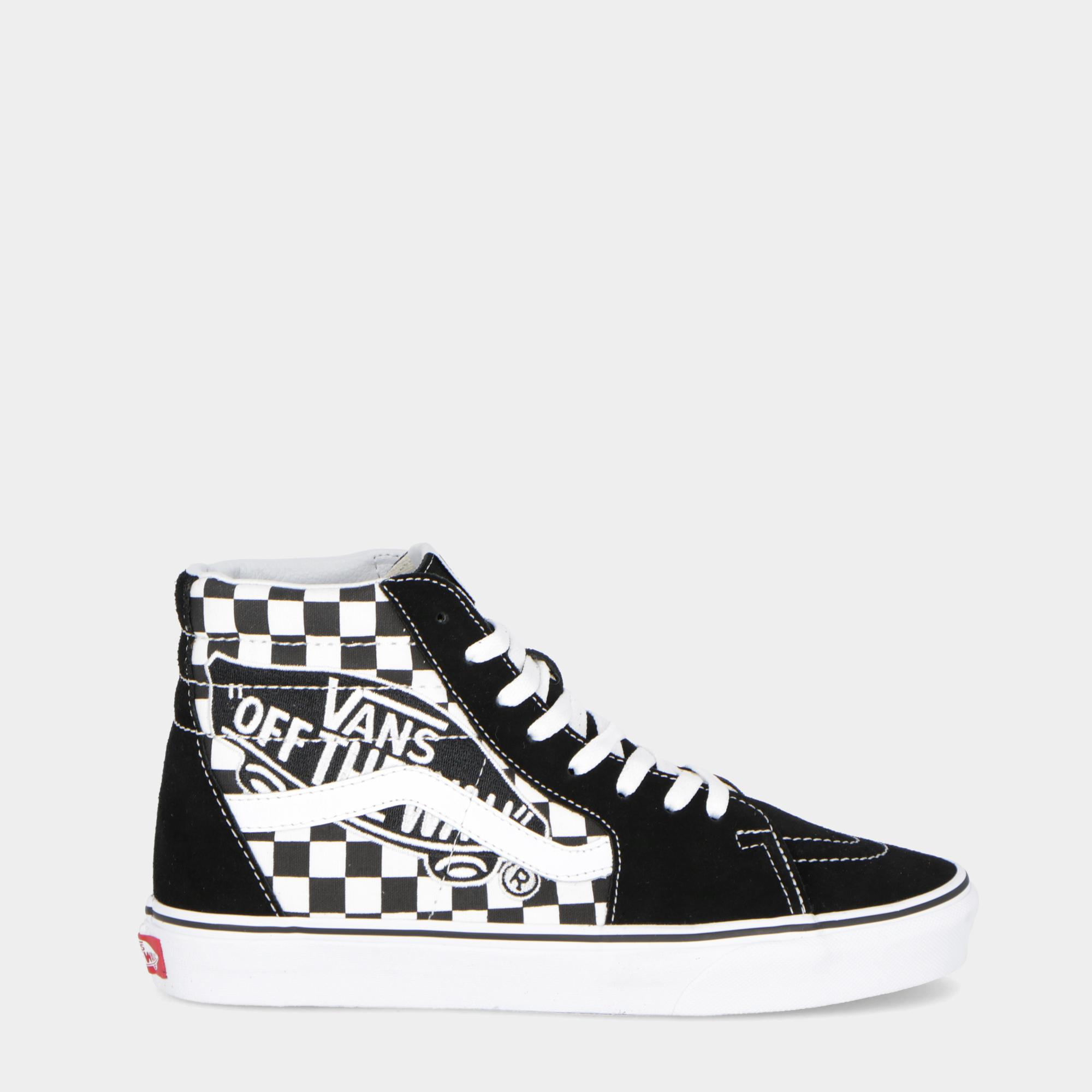 72eb9a684b Vans Sk8-hi Black True White