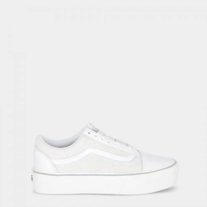 vans scarpe skate snake white
