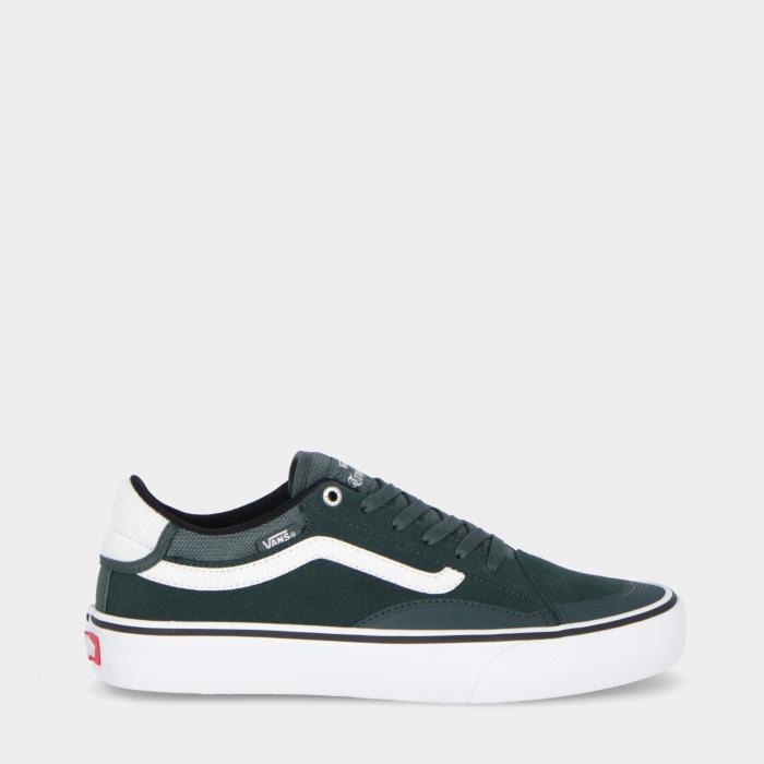 vans scarpe skate darkest spruce/wht