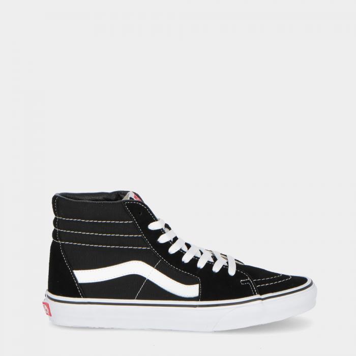 vans scarpe skate black white