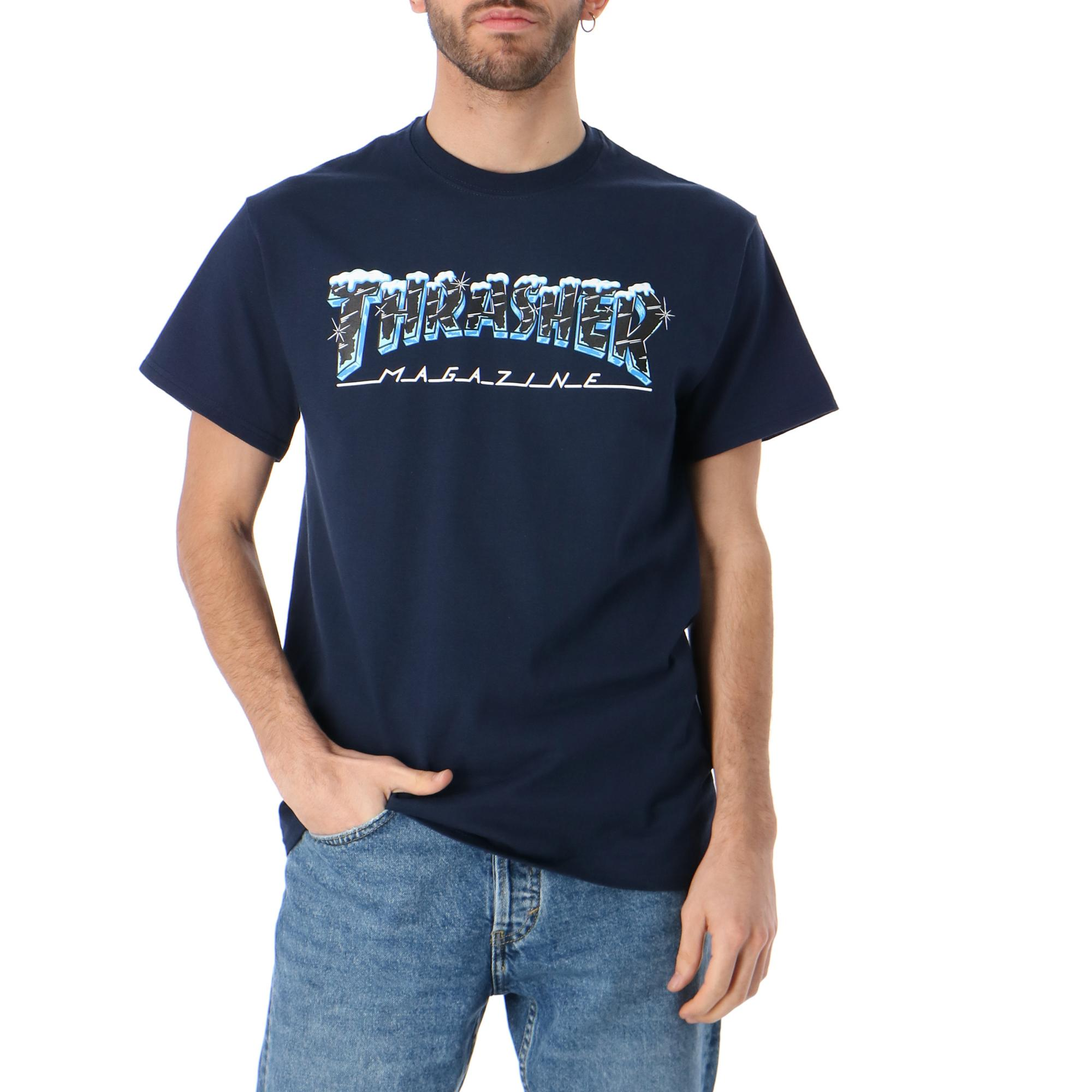 Thrasher Black Ice S/s NAVY