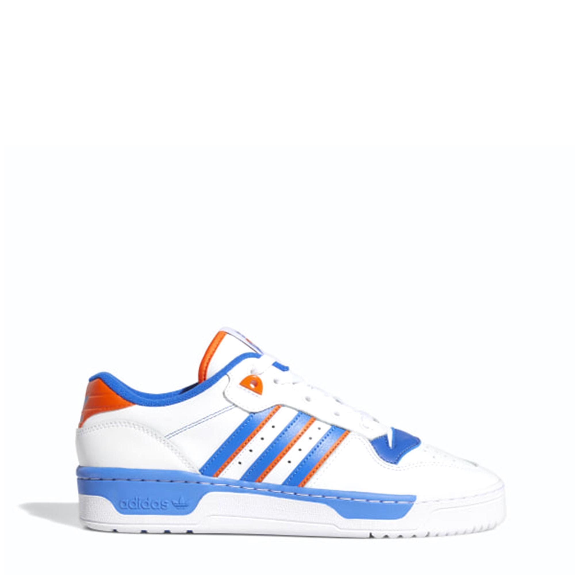 Adidas Rivalry Low White blue orange