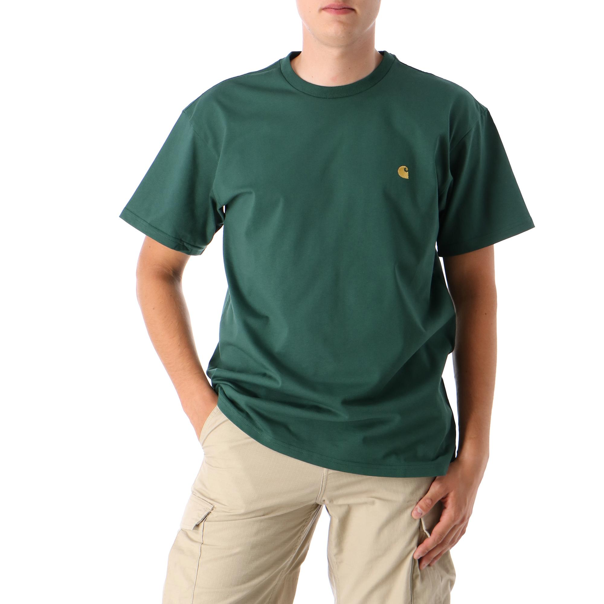 Carhartt S/s Chase T-shirt Treehouse gold