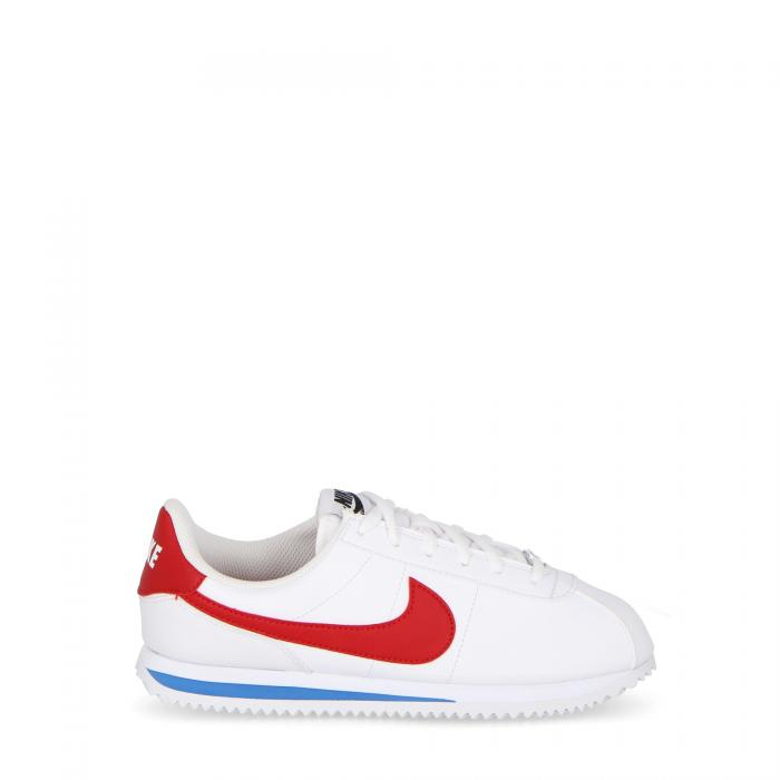 Cortez Basic Sl (gs) Kids White Red Royal | Treesse