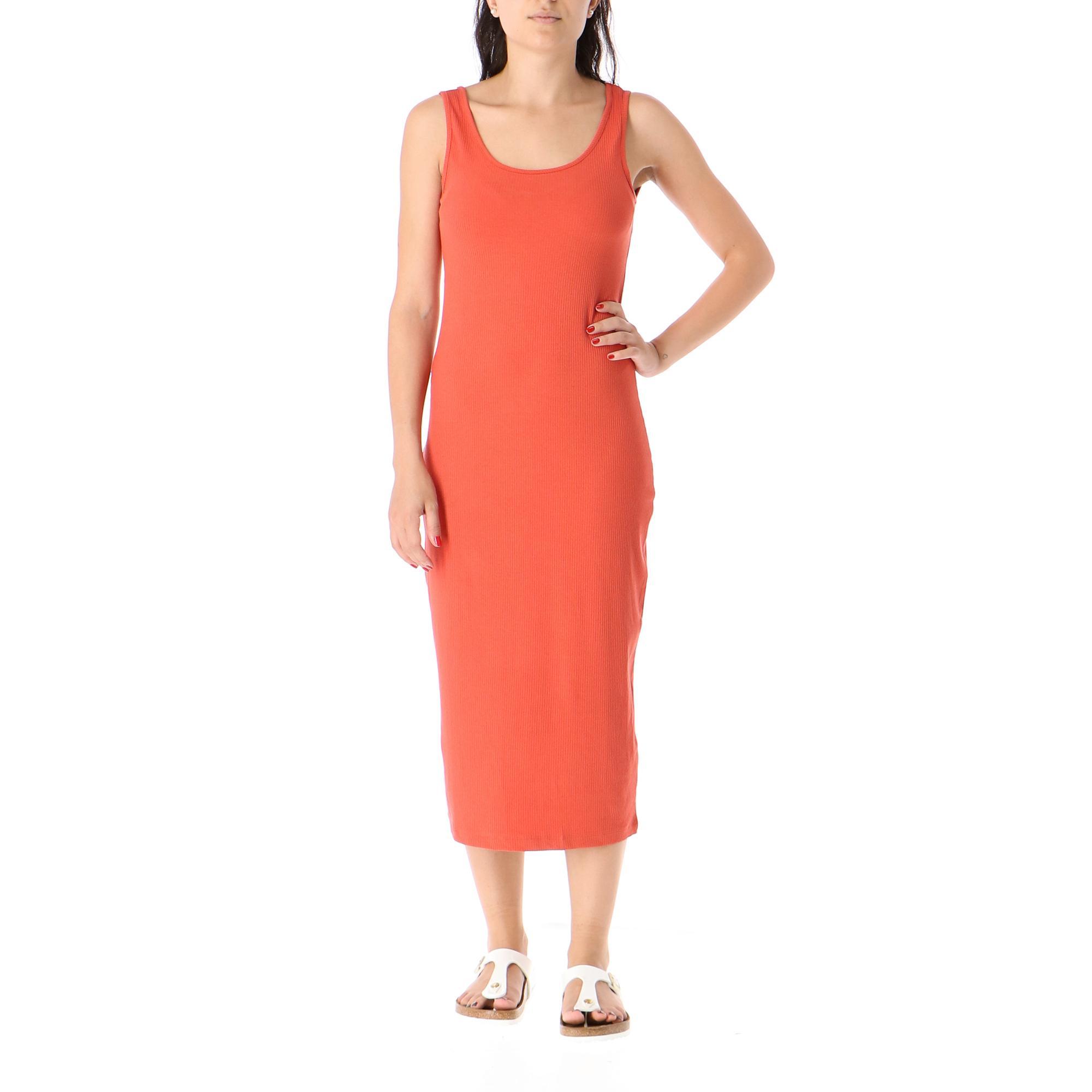 Only Naroma S/l Dress Jrs Hot sauce