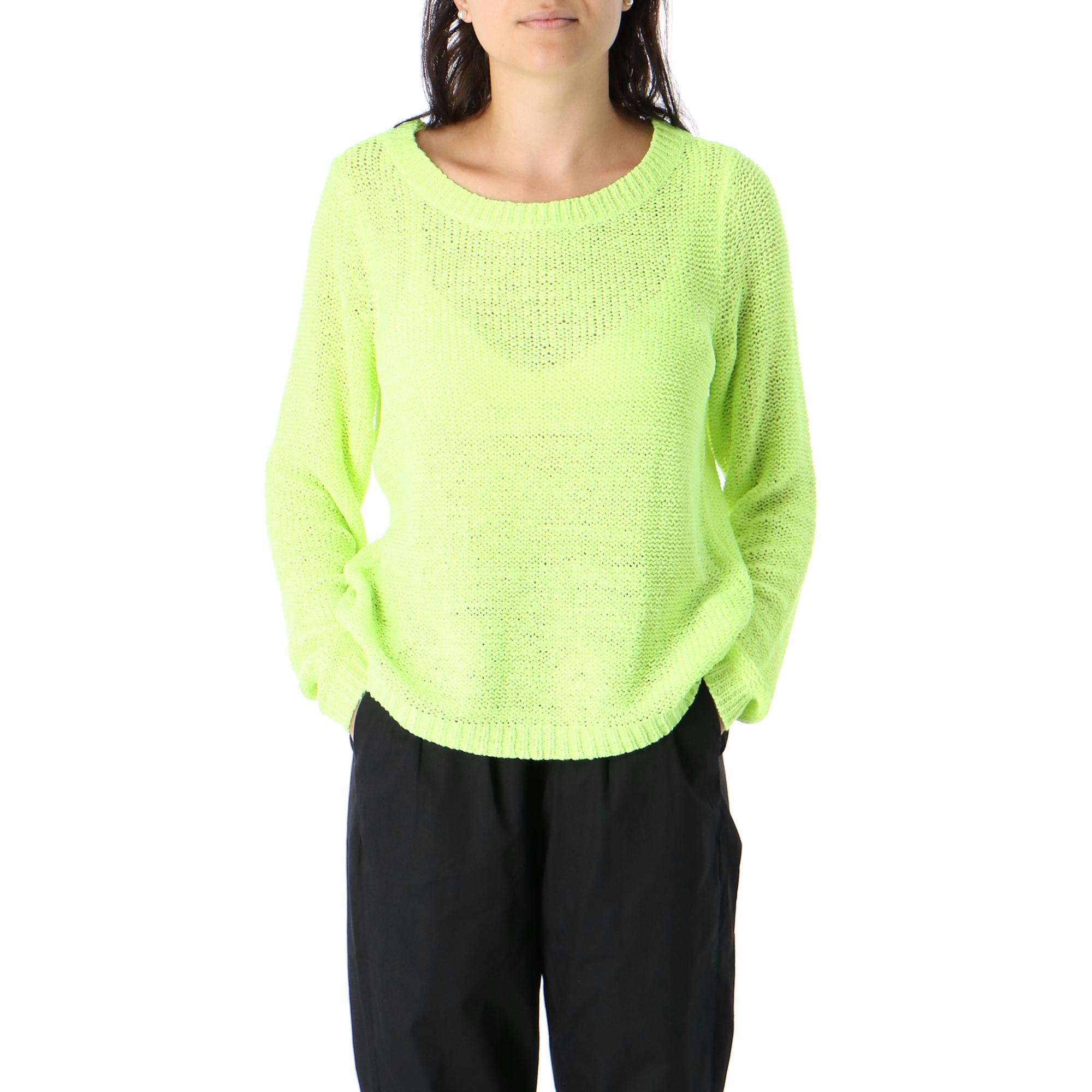 Only Geena Ls Neon Pullover Neon yellow