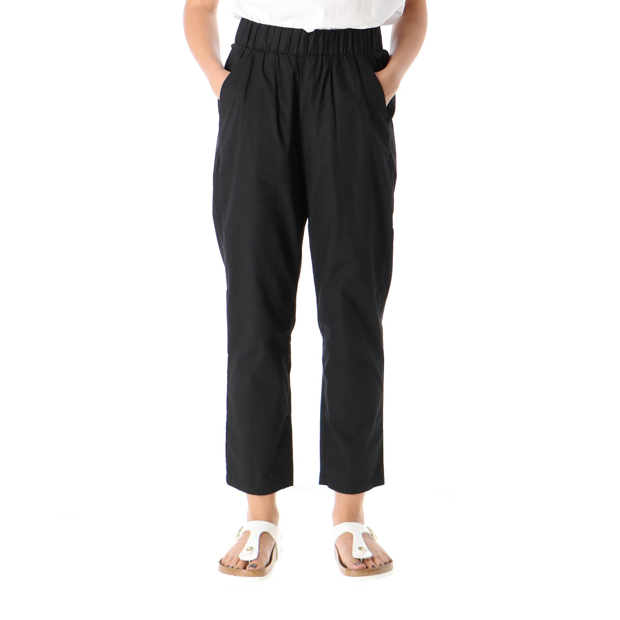Only Ajna Pants Wvn Black