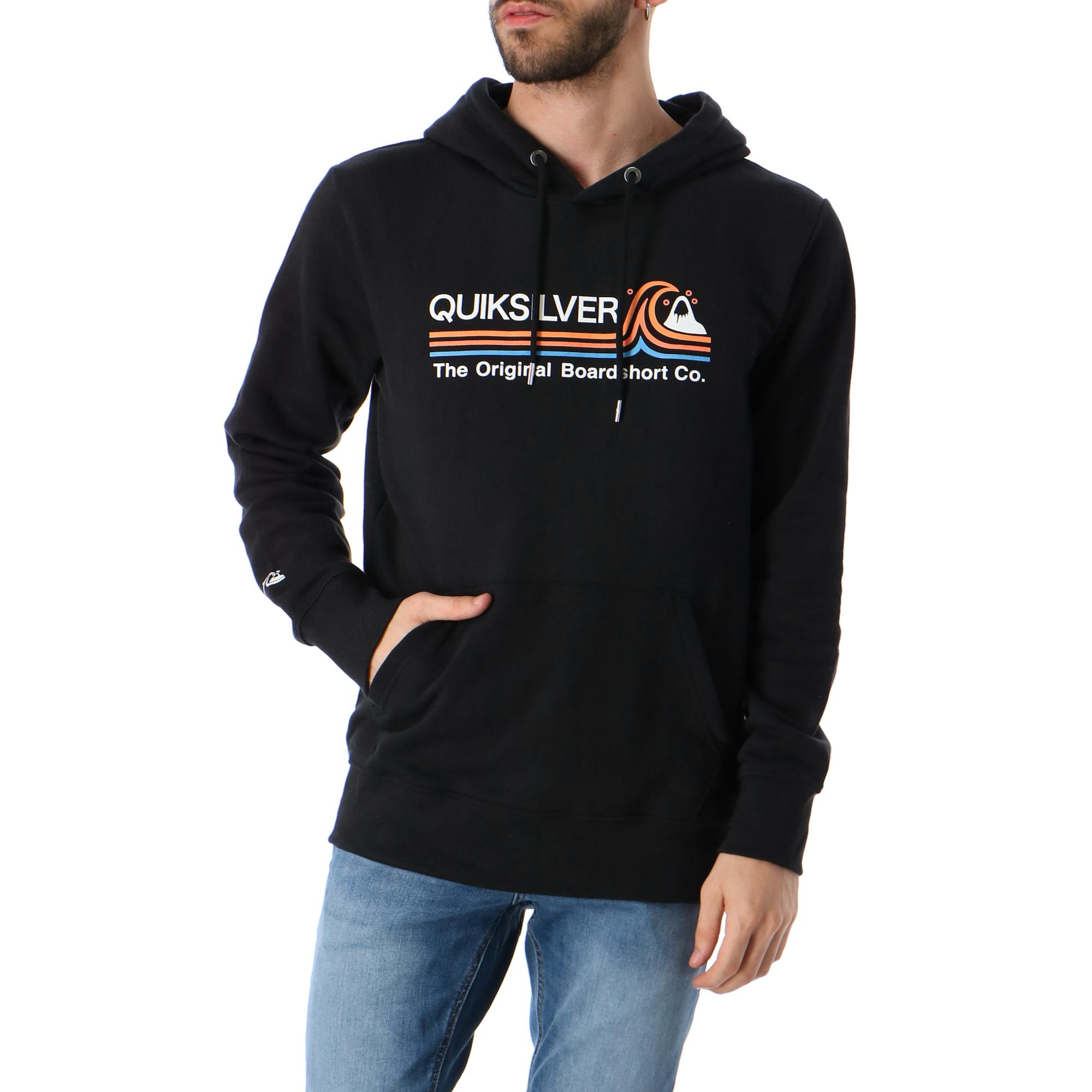 Quiksilver Stone Cold Classic Hoodie Black