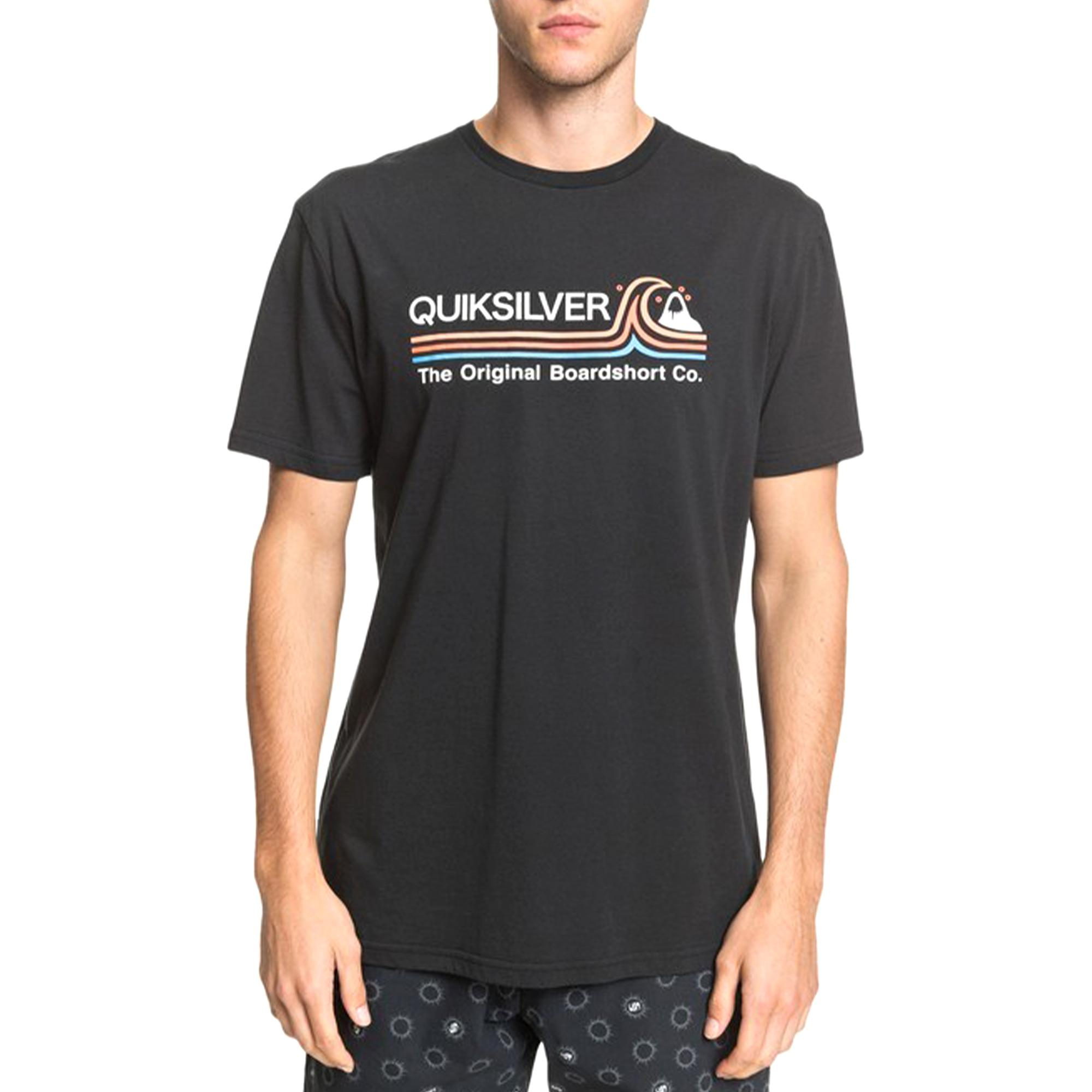 Quiksilver Stone Cold Classic Ss Black
