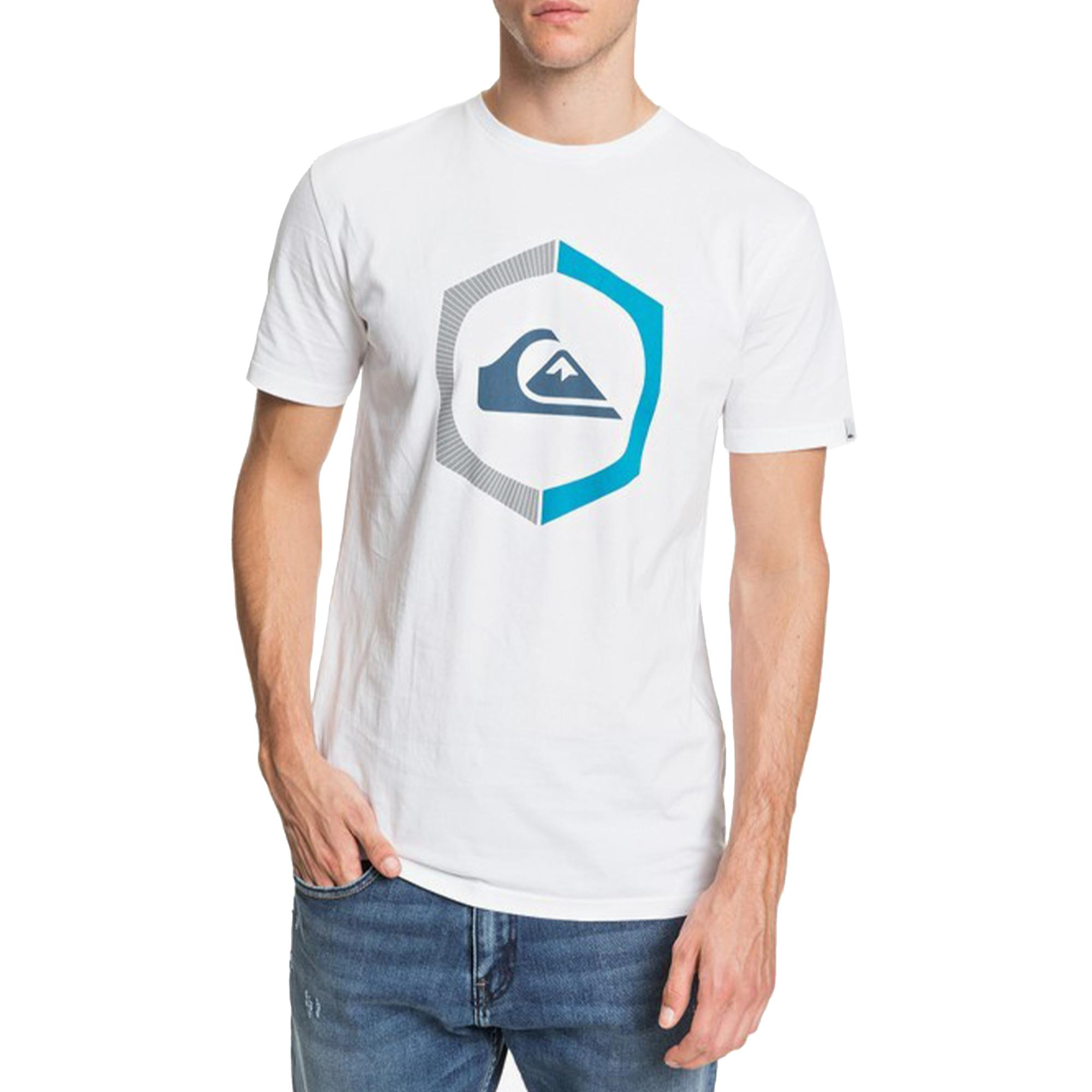Quiksilver Sure Thing Ss WHITE