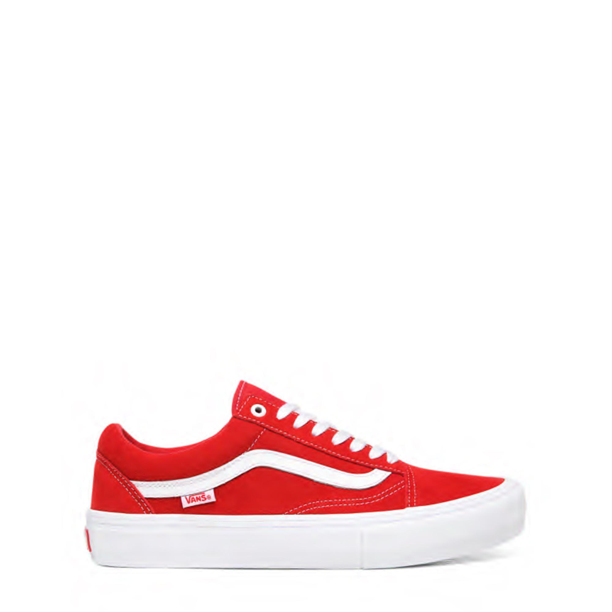 Vans Mn Old Skool Pro (suede) red white
