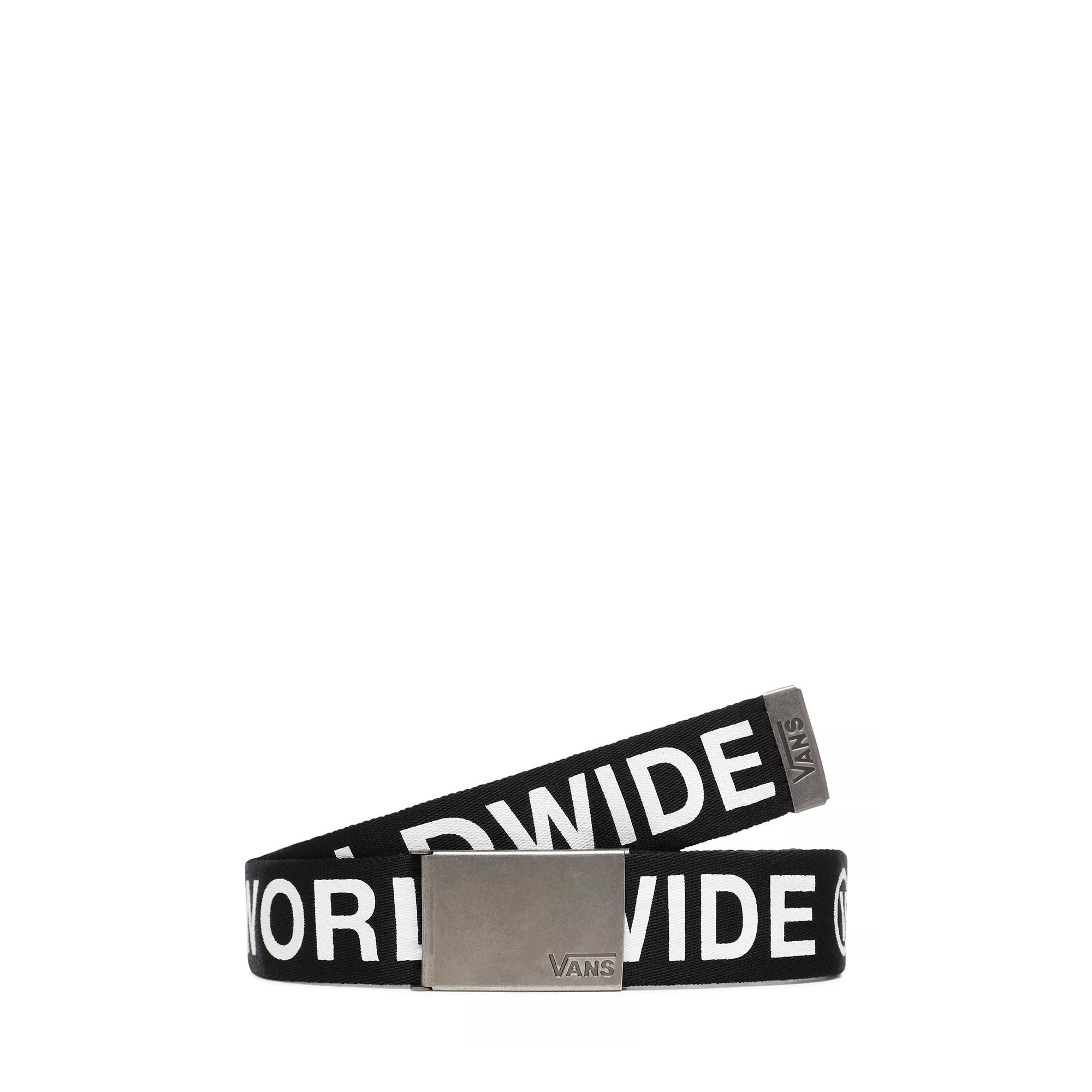Vans Long Depster Web Belt Black white