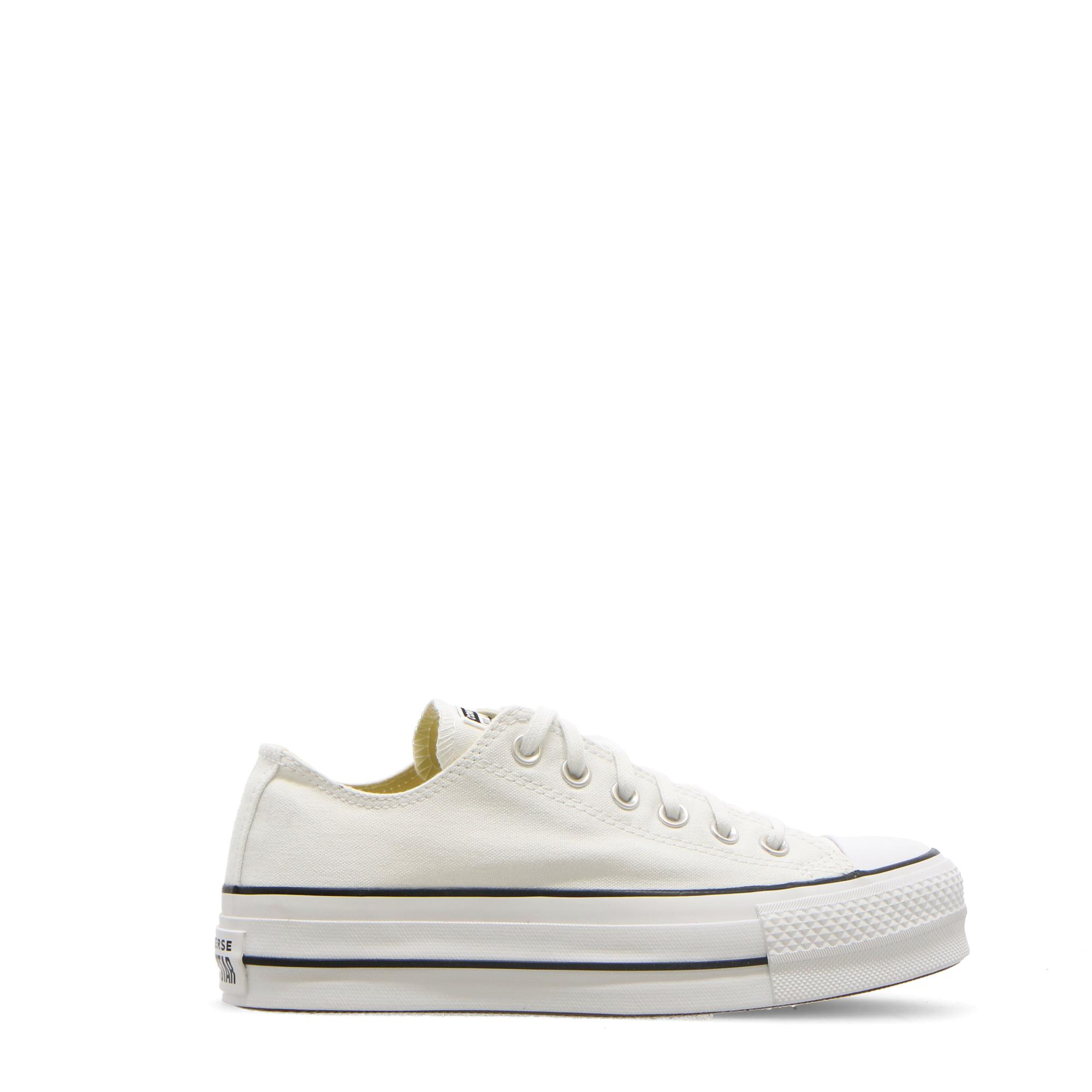 Converse Chuck Taylor All Star Lift Ox White black WHITE
