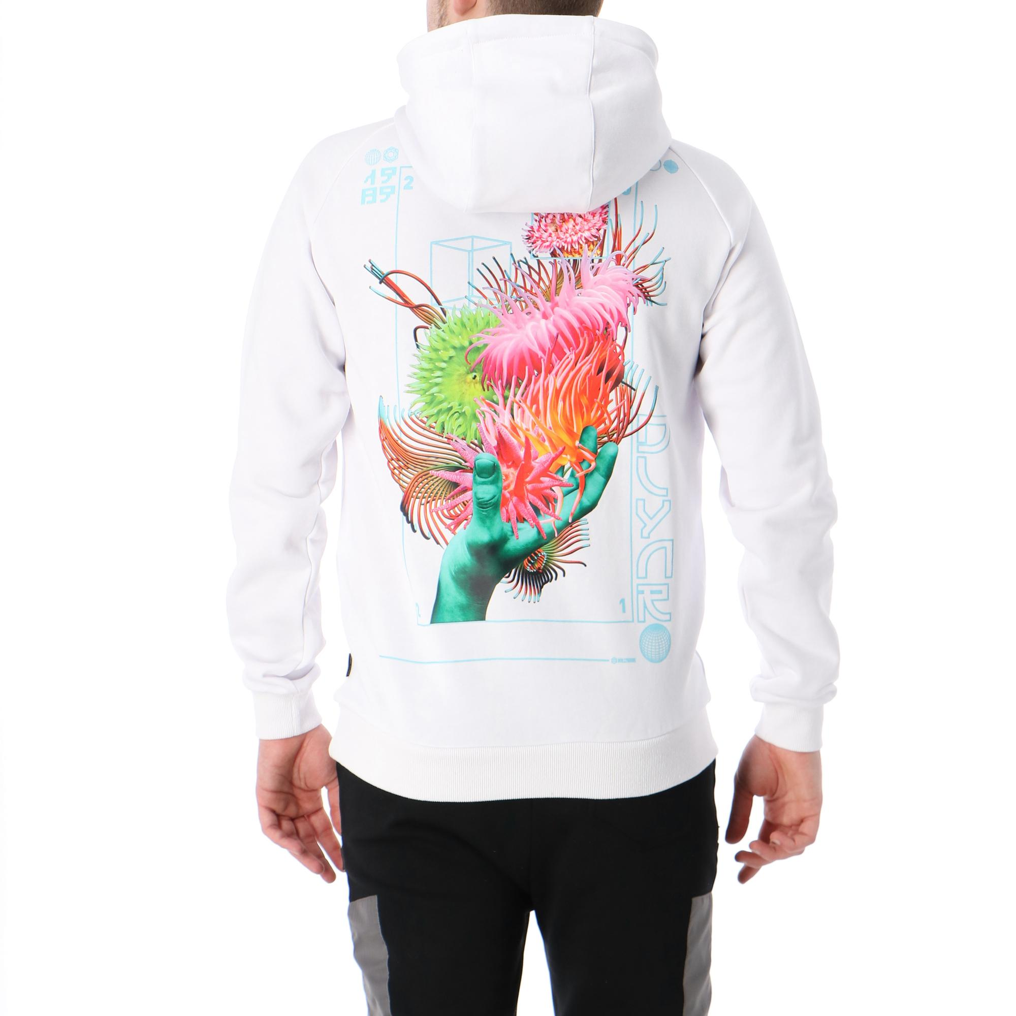 Dolly Noire Anemone Hoodie WHITE