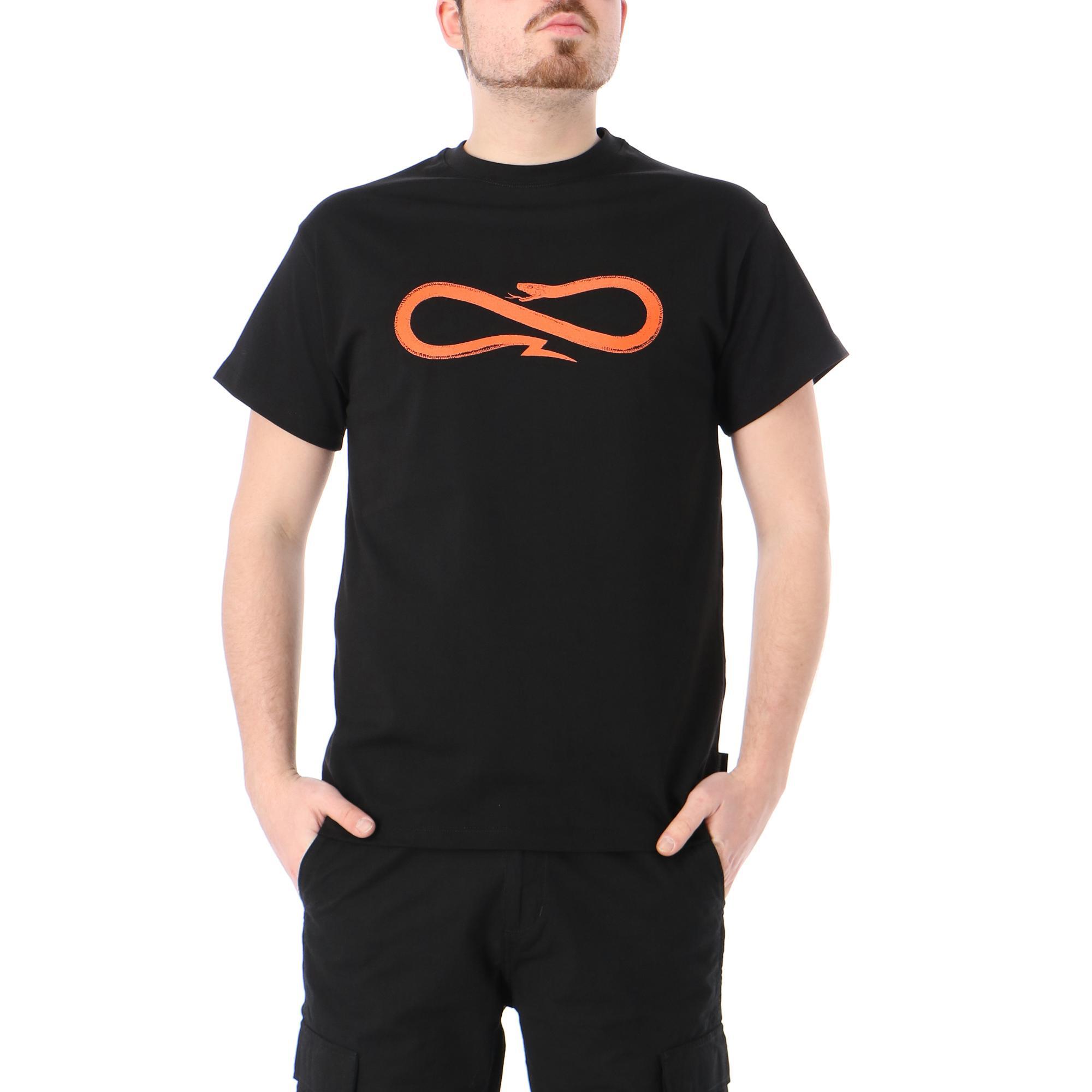 Propaganda Logo T-shirt Black