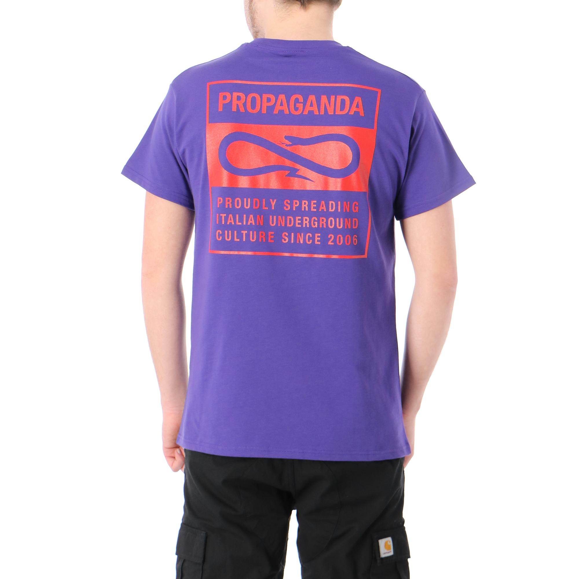 Propaganda V T-shirt PURPLE