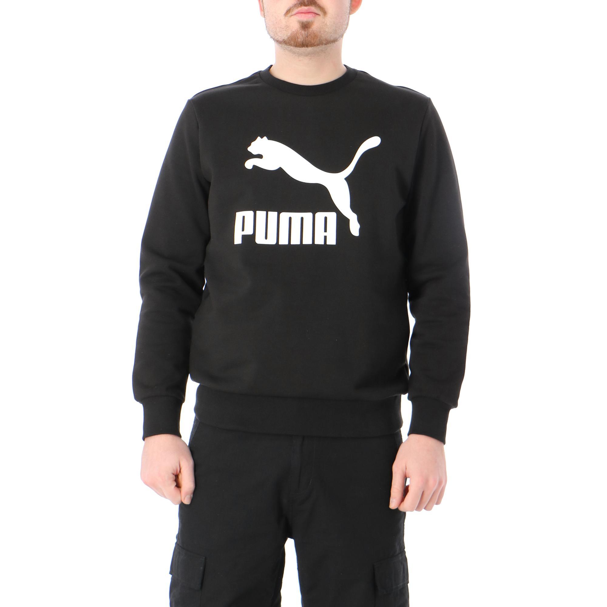 Puma Classic Logo Crew Tr Black