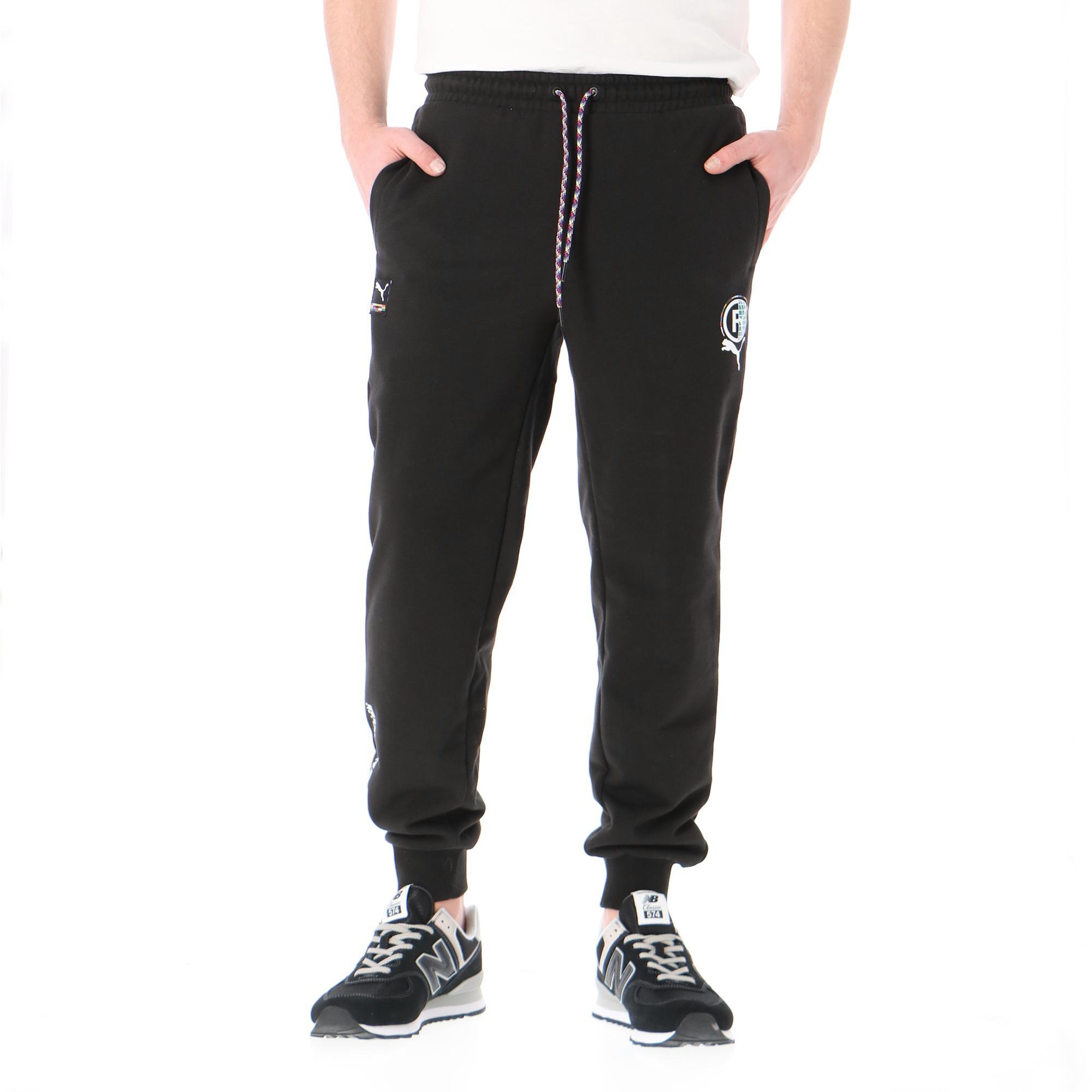 Puma Intl Graphic Pants Black