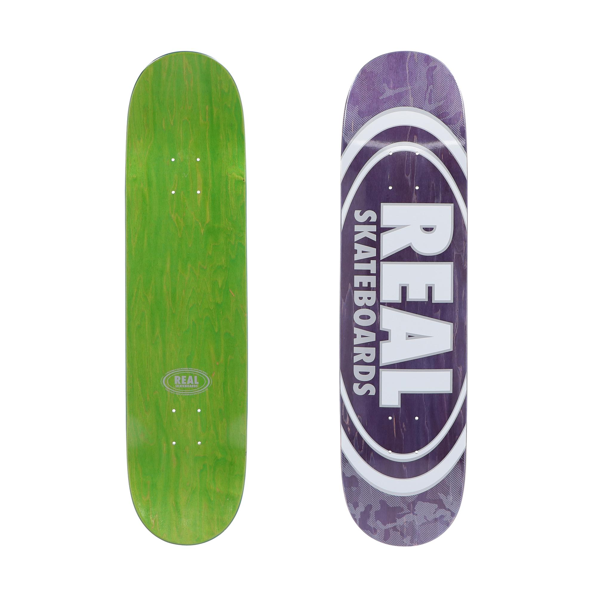 Real Re Oval Pearl Patterns Deck Violet