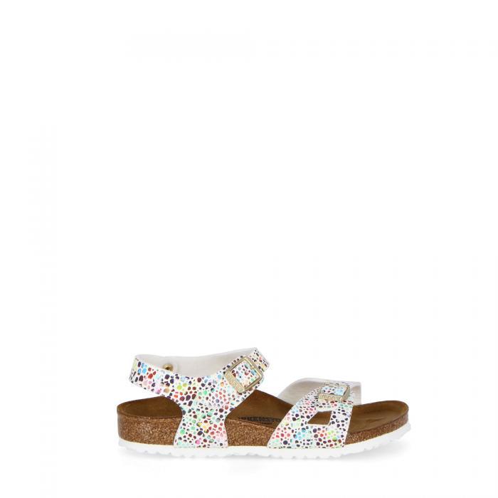 birkenstock sandali e ciabatte mosaic white