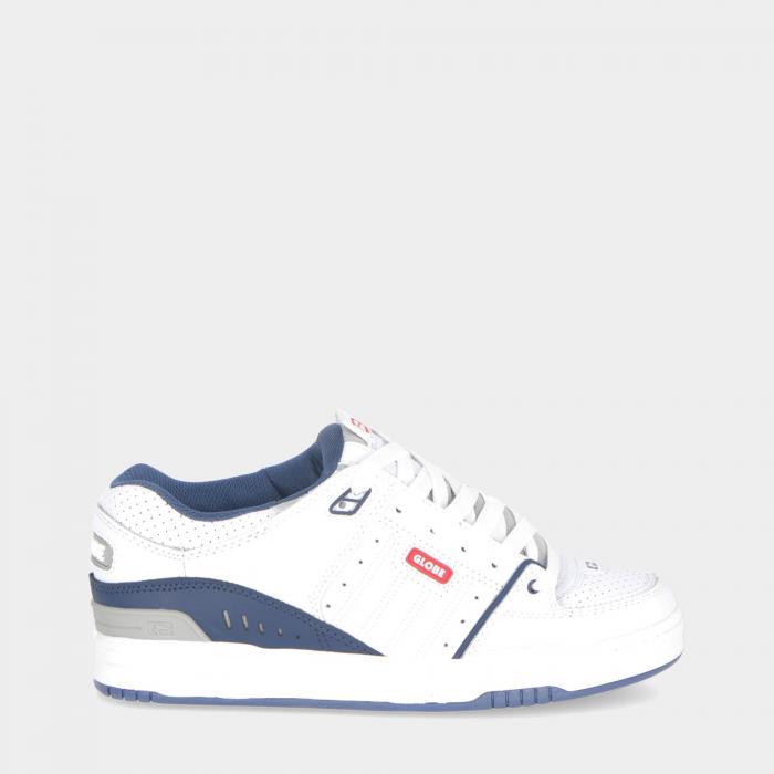 globe scarpe skate white blue