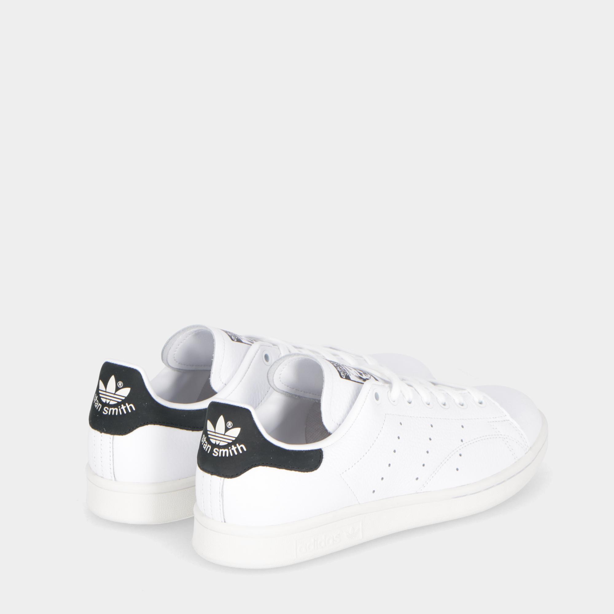 f68965554ee1c Adidas Stan Smith White Black