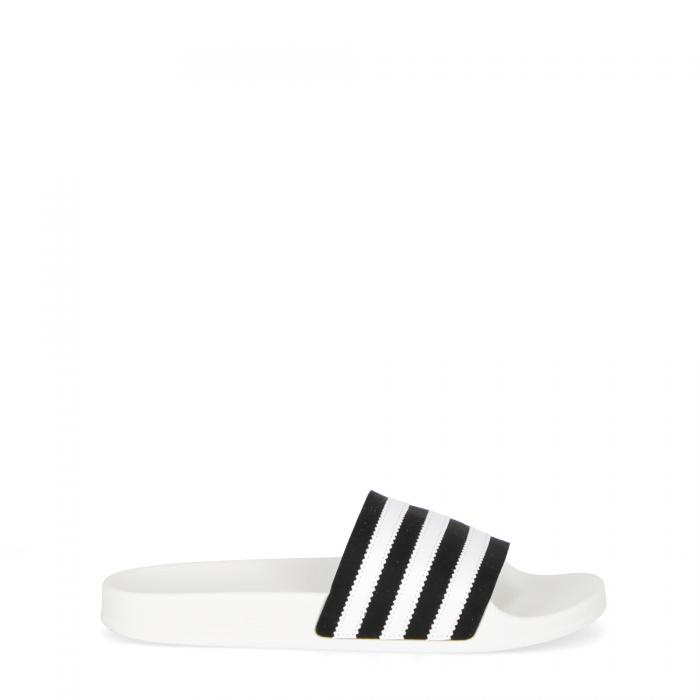adidas ciabatte black white