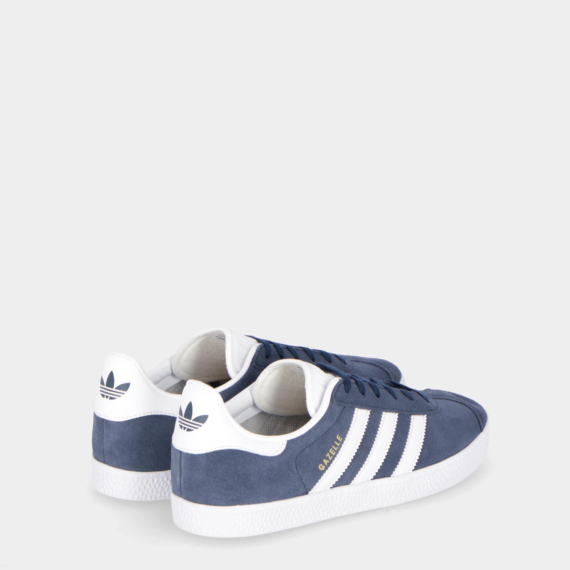 7f32a0ecc6 Adidas Gazelle J Navy White White   Treesse
