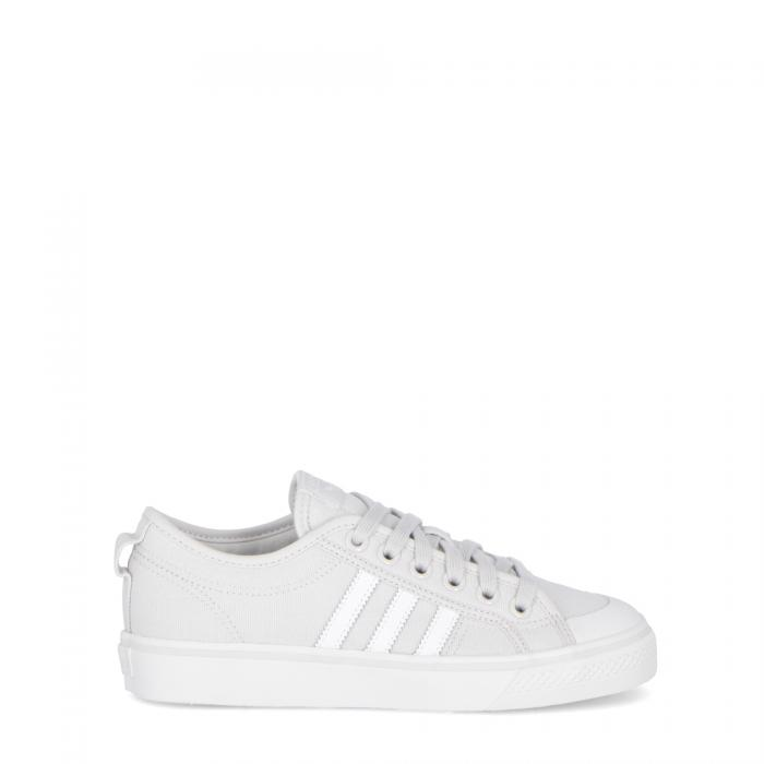 adidas basse grey white white