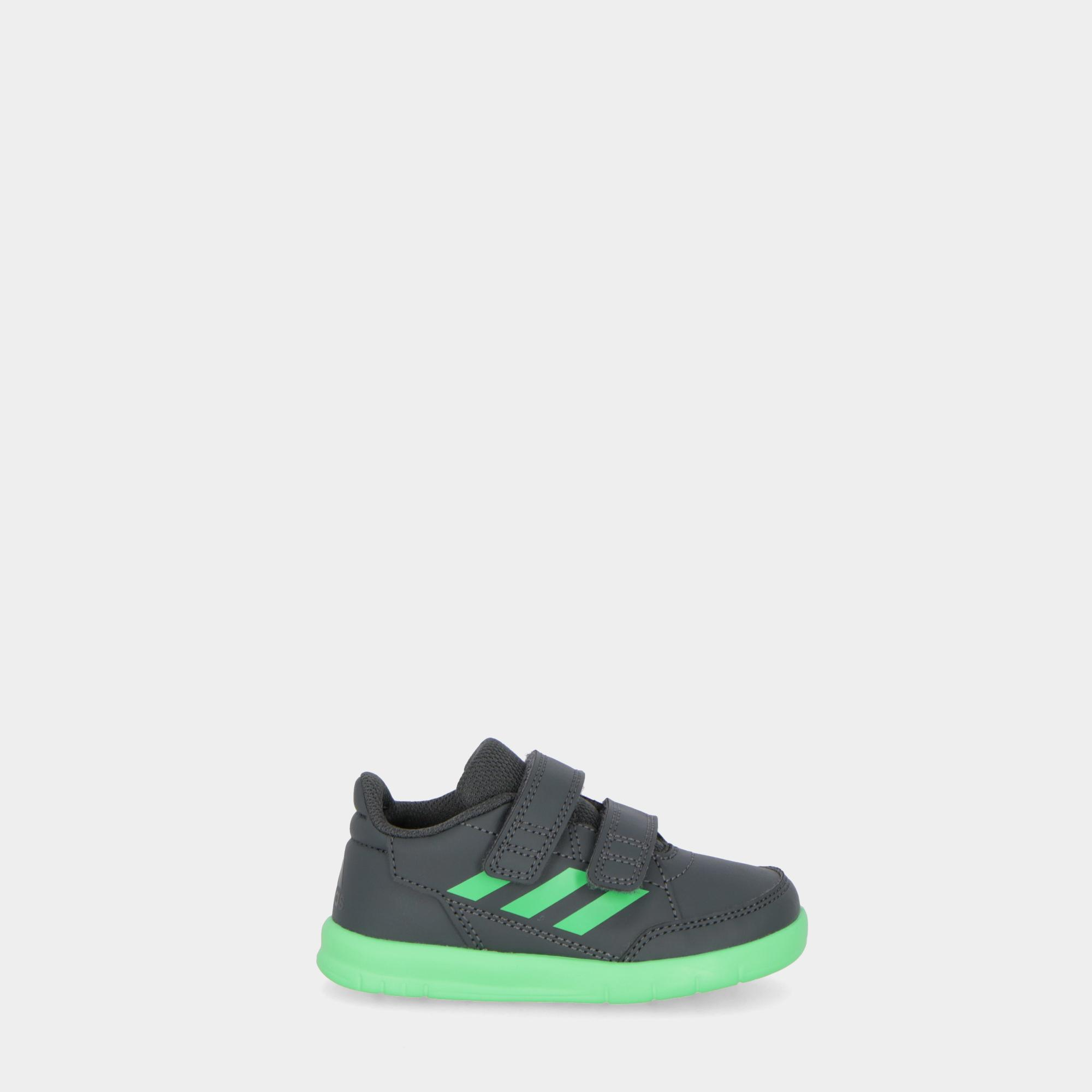 low priced baff4 6ba22 Adidas Altasport Cf I - Kids Grey lime white